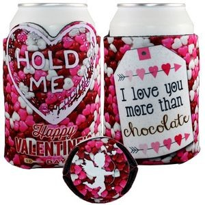 Crazy Frio� Heart Beverage Holder (4CP/ Dye Sublimation)