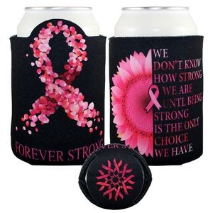 Crazy Frio� Cancer Ribbon Beverage Holder (4CP/ Dye Sublimation)
